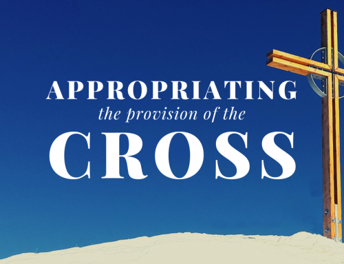 Appropriating the Provision of the Cross